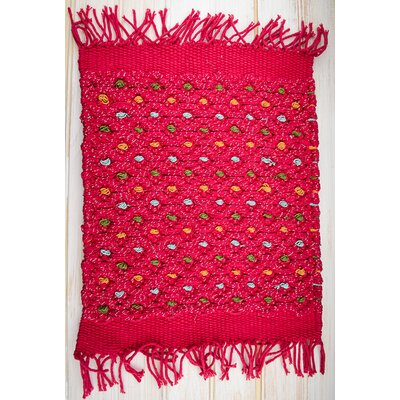 Dazzle Red Area Rug