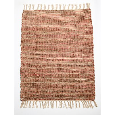 Morocco Soft Red Area Rug