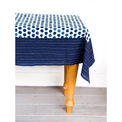 Kantha Stitch Circle Tablecloth