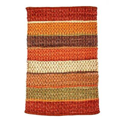 Hudson Herringbone Saffron Area Rug