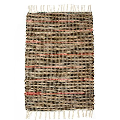 Morocco Hand-Woven Brown Area Rug Rug Size: Runner 24 x 7