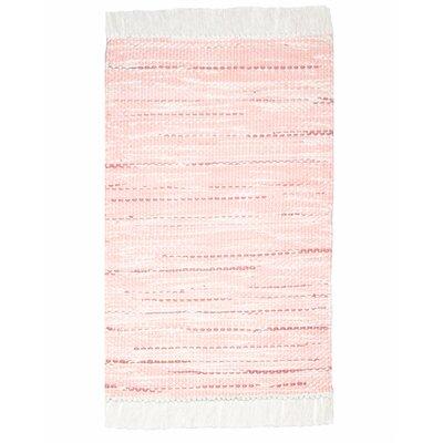 Malibu Dune Hand-Woven Pink Sand Area Rug
