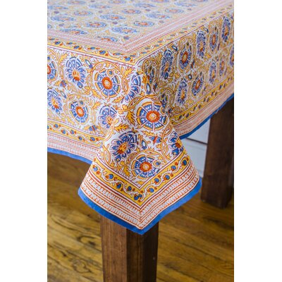 Bower Square Tablecloth Color: Buttercup