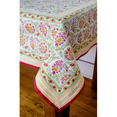Bower Square Tablecloth Color: Pear