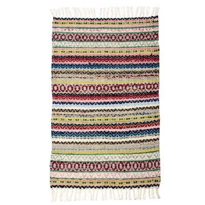 East End Hand-Woven Multi Almond Area Rug