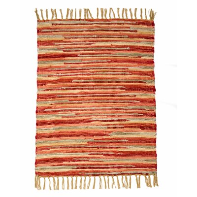 Velvet Coral Sunset Area Rug