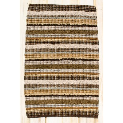 Bossa Nova Brown Area Rug Rug Size: Runner 24 x 7