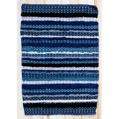 Bossa Nova Indigo Area Rug Rug Size: Rectangle 2 x 3