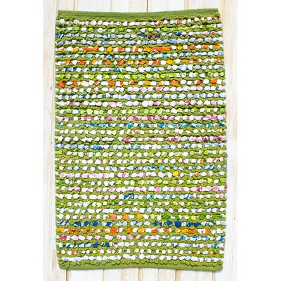 Staccato Green Area Rug Rug Size: Rectangle 26 x 42