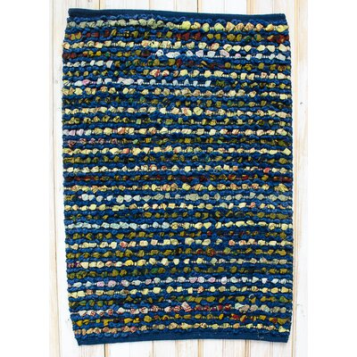 Staccato Navy Area Rug Rug Size: Rectangle 26 x 42