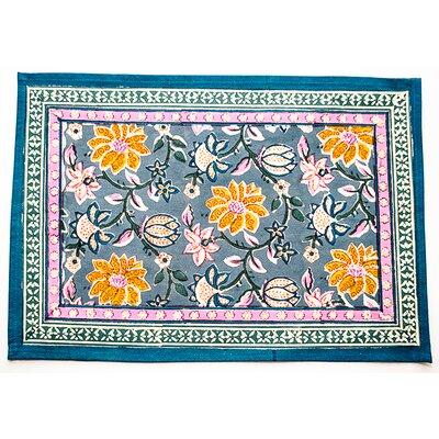 Sophie Placemat (Set of 4) Color: Slate Blue