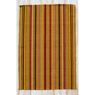 Vineyard Tuscan Stripe Area Rug Rug Size: 26 x 42