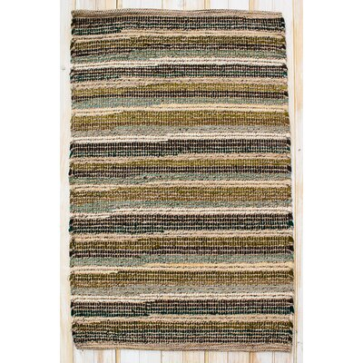 Paris Moss Green Rug Rug Size: Rectangle 26 x 42