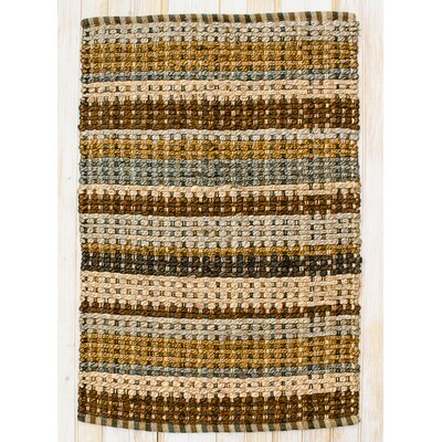 Painted Desert Woodbrown Area Rug Rug Size: 2' x 3'