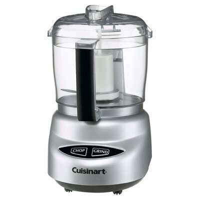 Cuisinart DLC-4CHB Mini-prep Plus Brushed Stainless Steel 4-cup Food Processor 7097098