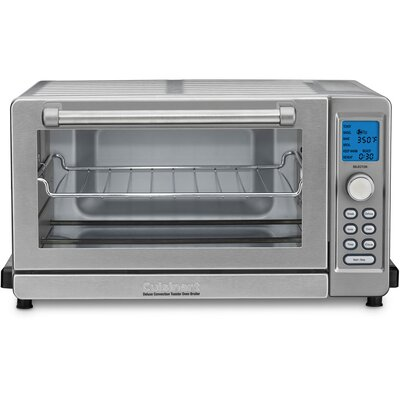 Deluxe Convection Toaster Oven Broiler Color: White TOB-135W
