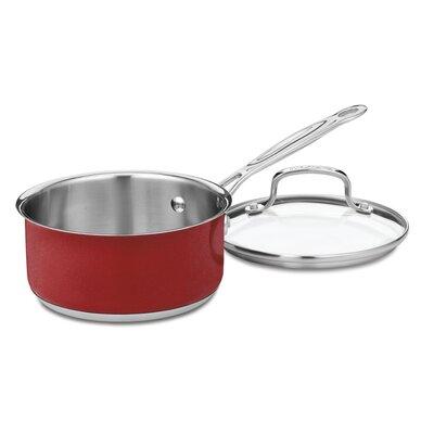 Cuisinart Saucepan with Lid CS19-16MR