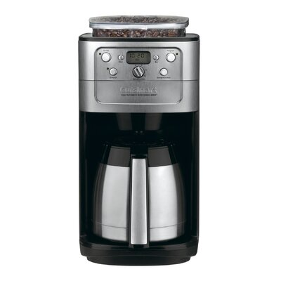 Cuisinart Thermal Automatic Coffee Maker - DGB-900BC - Black - 12-Cup