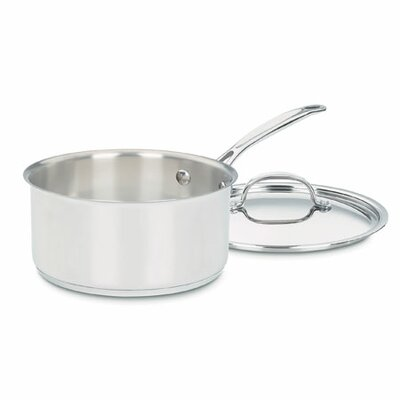 Chef's Classic 3-qt Stainless Steel Saucepan with Lid 7193-20