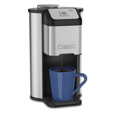 Single Serve Grind and Brew� Coffee Maker DGB-1