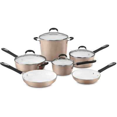 Elements 10-Piece Non-Stick Cookware Set
