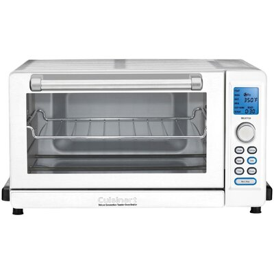 Deluxe Convection Toaster Oven Broiler Color: White