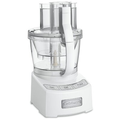 12 Cup Food Processor Color: White FP-12N