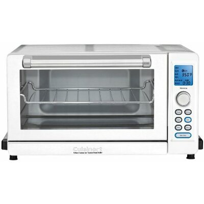 0.6 cu. ft.Deluxe Convection Toaster Oven and Broiler TOB-135W