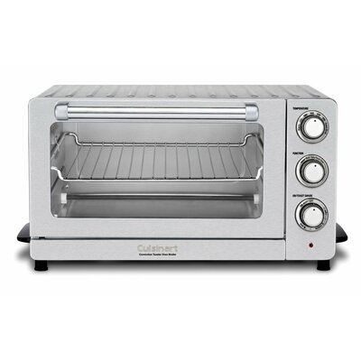 0.6 Cu. Ft. Toaster Oven Broiler with Convection TOB-60N1
