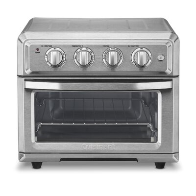 Cuisinart 0.6 Cu. ft. Air Fryer Toaster Oven TOA-60