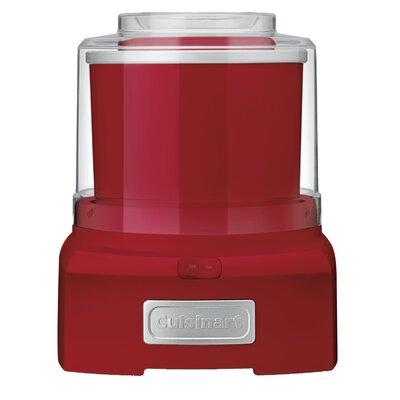 1.5 Qt. Frozen Yogurt, Ice Cream & Sorbet Maker Color: Red ICE-21R