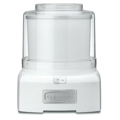 1.5 Qt. Frozen Yogurt, Ice Cream & Sorbet Maker Color: White ICE-21