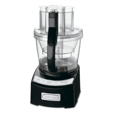 12 Cup Food Processor Color: Black FP12BK