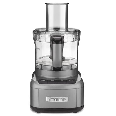 Cuisinart FP-8 8-cup Gunmetal Elemental Food Processor 14616966