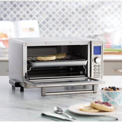 Cuisinart - 0.6 Cu. Ft. 6-Slice Toaster Oven - Stainless Steel TOB-135N