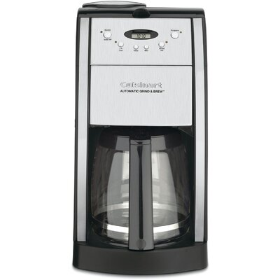 Cuisinart DGB-550BK 12 Cup Programmable Grind And Brew Coffee Maker | BrandsMart