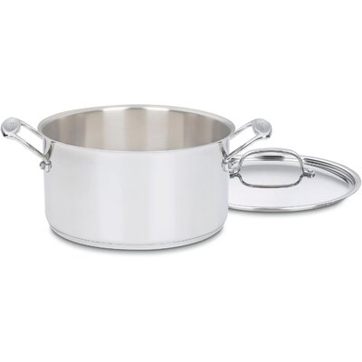 Chef's Classic Stainless Steel Stock Pot with Lid 744-24