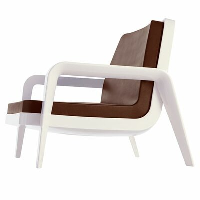 America Armchair Color: White