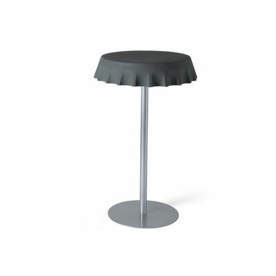 Fizzz Pub Table Color: Iron Grey Lacquer