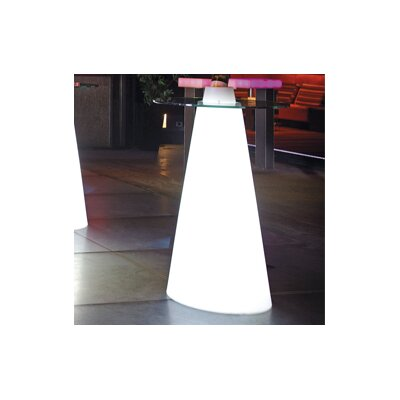 Peak Extendable Dining Table Color: Signal White Lacquer