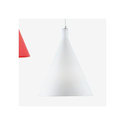 Juxt 1-Light Mini Pendant Finish: White