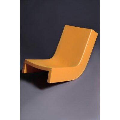 Twist Chaise Lounge Finish: Orange