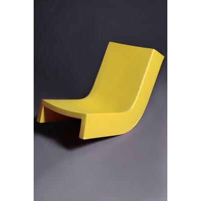 Twist Chaise Lounge Finish: Yellow
