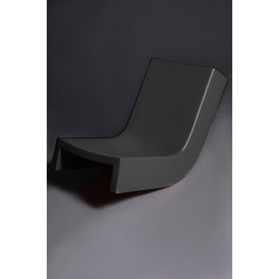 Twist Chaise Lounge Finish: Black