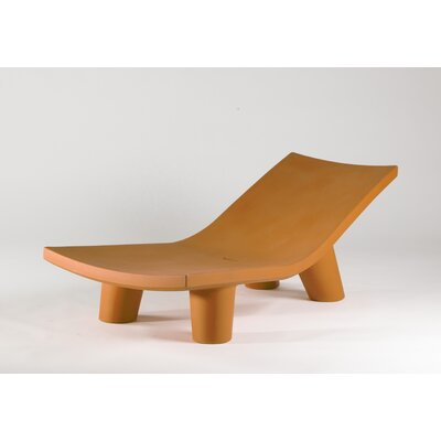 Low Lita Chaise Lounge Finish: Orange