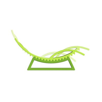 TicTac Chaise Lounge Finish: Lime Green Lacquer