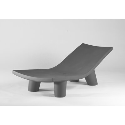 Low Lita Chaise Lounge Finish: Grey