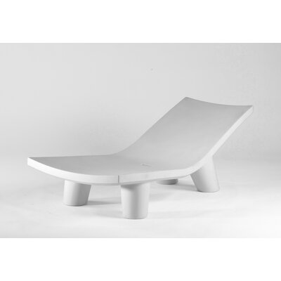 Low Lita Chaise Lounge Finish: White