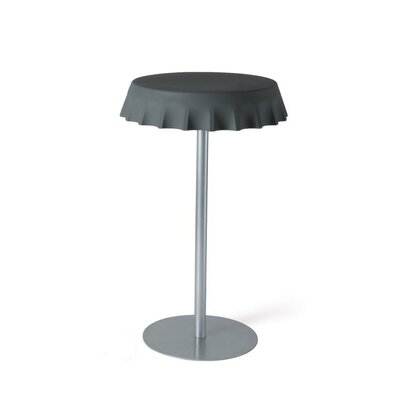 Fizzz End Table Color: Iron Grey Lacquer