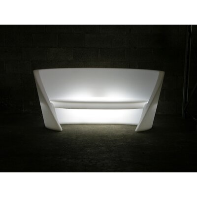 Rap Sofa Finish: White with Light